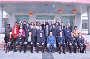 花土沟镇第八届人民代表大会代表集体合影